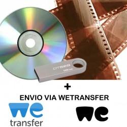 Revelação + CD + Envio p/Email